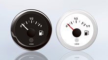 The ViewLine fuel level gauge provides information about the fuel level in the tank.