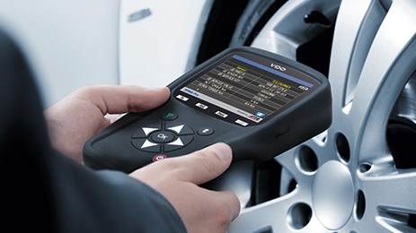 VDO TPMS Pro: quickly read out, checked and programmed.